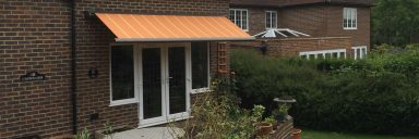 Awnings for residential homes