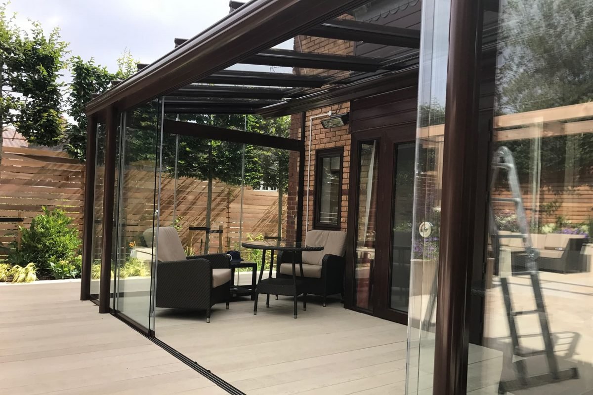 Glass garden room install 1 year on the glass room company for Garden glass room